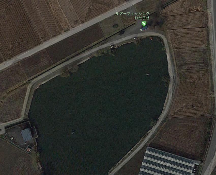 【ポイントマップ】ルアーフィッシングわたらせ バスの釣り方・攻略法とおすすめルアー【管釣り】
